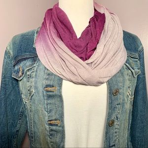 Accessories - Italian-Made Ombre Scarf
